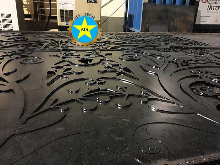 Báo giá cắt CNC thép tấm